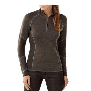 Smartwool Alamosa Double Knit Full Zipper Sweater